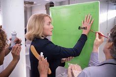 Jeanine Matthews  ~~ behind the scenes of Divergent