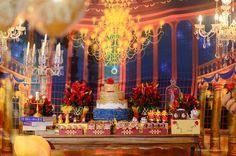 decoração de festa tema a bela e a fera - Pesquisa Google