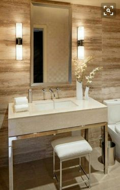 A Lesson in Bathroom Lighting | Lights, House and Face