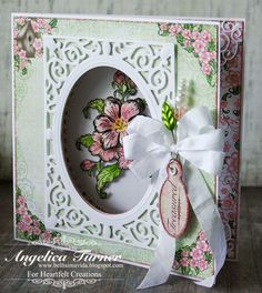 New Arianna Blooms collection from Heartfelt Creations.