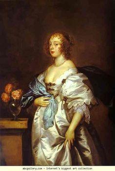 Anthony van Dyck. Lady Borlase. 1638