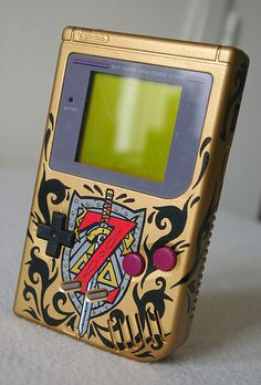 "Custom ""Legend of Zelda"" Game boy - by Oskunk"