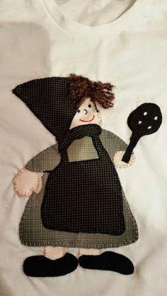 Sweet handmade things - patchwork: Camiseta Castañera patchwork/ Samarreta Castanyera patchwork