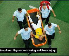 So glad Neymar is getting better