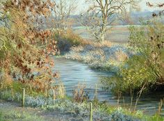 Peter Barker Paintings - Early Frost