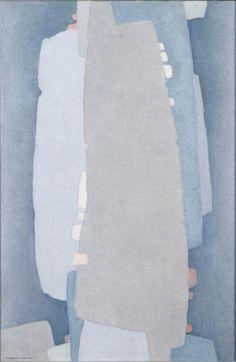 Marvin Cone - Enigma, 1961 - Cedar Rapids Museum of Art//