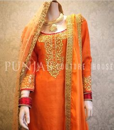 The perfect Punjabi piece by Punjab Couture House!