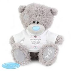 Personalised 'Tatty Teddy' Me To You Bear - Flower Girl/Bridesmaid