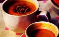 Acorn Squash & Pasta Soup