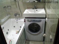 Установка раковины-кувшинки над стиральной машиной: пошаговая инструкция