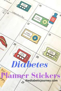 Diabetes Planner Sti...