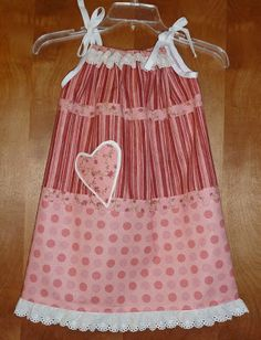 Beautiful pillowcase style dress using fabric.  Offers fabric measurements for different sizes. Sew Delightful: Fabric Needs when Making A Dress