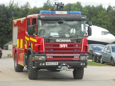 Manchester Airport Fire Engine