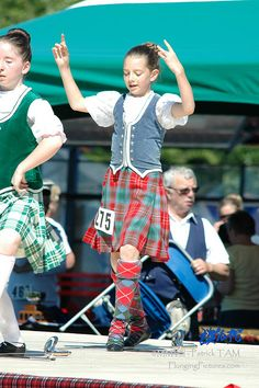 On the right - kilt with blue vest #British #Columbia #Other #Tartan