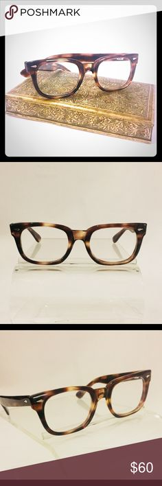 Vintage American Optical frames NWT NWT Vintage plastic frames from American Optical, the pioneers of eyewear since 1900. The Wayfarer style frames in brown tortoise shell are a classic combo that is always chic & timeless. American Optical Accessories Glasses