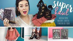 SUPER HAUL - Ropa, zapatos, maquillaje, libros... |Eynin24
