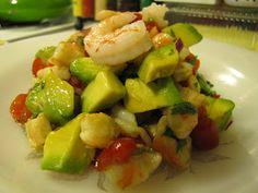 Faithfulness Farm: Low-Carb Living ~ Zesty Lime Shrimp & Avocado Salad