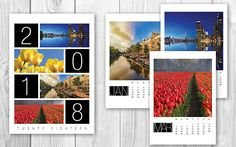 ◆2018 Calendar of the Netherlands, Holland, Typical Dutch printable wall decor, Photo kalender Nederland◆  A beautiful Calendar showing pictures of the Netherlands available in A4 and Letter size (8.5 x 11). This calendar is custom made showing beautiful pictures from all around the Netherlands. Just print and enjoy. Makes a great affordable Christmas gift, stocking stuffer or birthday gift for anyone who likes the Netherlands / Holland.  ◆WHAT DO YOU GET? - A4 size Calendar of 2018 in P...