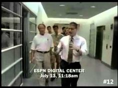 "Point of View ▶ 20 Greatest ""This is Sportscenter"" Commercials - ESPN SportsCenter has built a very recognizable look, feel and their commercials are legendary and able to be identified immediately."