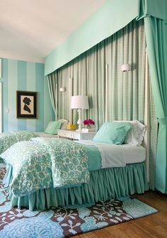 bedroom. this color scheme = perfect.