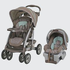 "Graco Quattro Tour Reverse Travel System Stroller - Capri - I like that you could have the baby facing you! - Graco - Babies ""R"" Us Best Baby Travel System, Travel Systems For Baby, Babies R Us, Toddler Stroller, Baby Strollers, Double Strollers, Toddler Car, Our Baby, Baby Boy"
