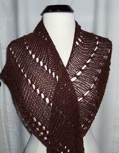 An Easy Shawl to Knit | AllFreeKnitting.com