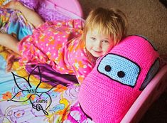 MNE Crafts: 5KCBWDay1 - A Day in the Life Of - Friendly Car Pillow Pal -