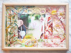 ご祝儀袋で作る水引ボードのリメイクデザインまとめ | marry[マリー] Wedding Welcome, Happy Marriage, Frame, Crafts, Decor, Weddings, Google, Instagram, Craft