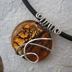 Wire wrapping- simple but elegant