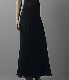 Alex Evenings Chiffon Maxi Skirt - ShopStyle Mother of the Bride Wedding Outfits For Groom, New Years Dress, Alex Evenings, Dresses For Less, Chiffon Skirt, Beautiful Outfits, Beautiful Clothes, Beautiful Things, Elegant Dresses