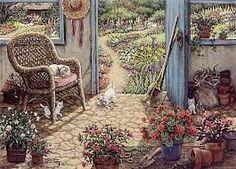 potting shed scene - Google Search