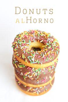 El rincón de los postres: Donuts al horno