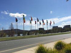 Flags on Floriade
