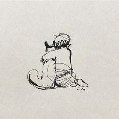 love - by Charlie Mackesy Illustrations, Illustration Art, Art Sketches, Art Drawings, Charlie Mackesy, Horse Quotes, Fox Art, Horse Art, Gouache