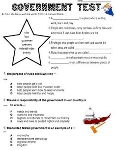 Social Studies Worksheets & Free Printables | Education.com
