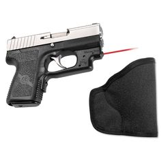 This Crimson Trace Laserguard is specifically designed to fit securely and seamlessly around the trigger guard of Kahr Arms pistols in 9mm and .40 caliber, placing the laser diode directly under the m