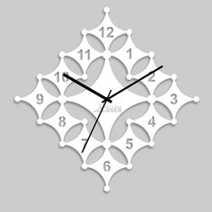 Buy Laser Craft Store White Acrylic Diamond Art Designer Wall Clock Online at Low prices in India on Winsant, India fastest online shopping website. Shop Online for Laser Craft Store White Acrylic Diamond Art Designer Wall Clock only at Winsant.com. COD facility available. Wooden Clock, Wooden Lamp, Working Wall, Dremel Wood Carving, Wall Clock Online, Cool Clocks, Clock Art, Wall Clock Design, Diamond Art