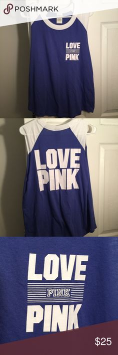 LOVE PINK Muscle Tank Brand new with tags... make reasonable offers no trades PINK Victoria's Secret Tops Tank Tops