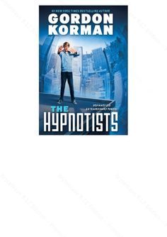 THE HYPOTISTS by Gordon Korman Jax can use his color-changing eyes to make people do things they don't want to do. Jax finds himself meeting Dr. Elias Mako, who wants to teach him how to use his powers and draws him into a conspiracy that will have him racing against time to save the United States. The second book, MEMORY MAZE, is just as exciting.