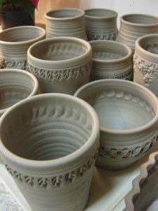 good ceramics site! Fire when ready, pottery love his stamps!