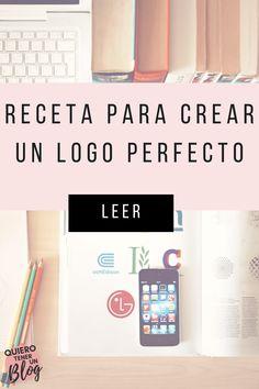 Si estamos en el proceso de creación de identidad de nuestra marca una de las principales cuestiones que debemos abordar es el diseño de nuestro logo. El logo será el que nos de identidad, nos diferenciará de otras empresas y hará que nuestro público objetivo nos identifique y nos recuerde. Por eso hoy, te voy a explicar todas las características que tienes que tener en cuenta para crear un logo perfecto. Además te voy a mostrar algunas herramientas que te ayudarán a diseñarlo fácilmente… Logan, Branding Digital, Logo Nasa, Goal, Blogging For Beginners, Identity, Te Quiero, Create, Messages