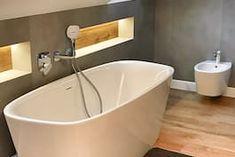 Dom w tamaryszkach 2 Thing 1, Dream House Exterior, Corner Bathtub, Bathroom, Detached House, House Design, Washroom, Bath Room, Bath