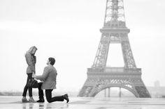Paris Marriage Proposal