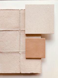 Material Color Palette, Spanish Home Decor, Mini Loft, Brick In The Wall, Hotel Concept, Material Board, Tadelakt, Deco Boheme, Bedroom Layouts