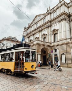 Visiting the La Scala Operahouse is one of the many things to do in Milan, Italy Milan Duomo, Milan Travel, Italy Tours, Rooftop Terrace, Milan Italy, Lake Como, Amalfi Coast, Italy Travel, Night Life