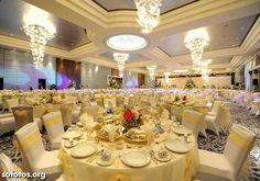 Decoração para casamento de alto luxo