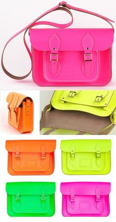 neon is so in! Love the green.