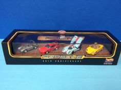 Hot Wheels Collectibles - Limited Edition - Porsche 50th Anniversary 4 Car Set