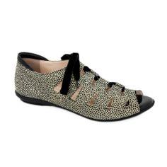 BeautiFeel Edyta Lace-up Shoe - Giraffe #BeautiFeel #laceup #shoes