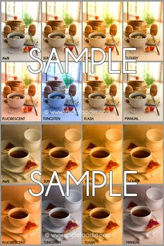 Food Photography Tutorials: White Balance, A Side by Side Comparison on Spicie Foodie | #foodphotography #whitebalance #tutorial